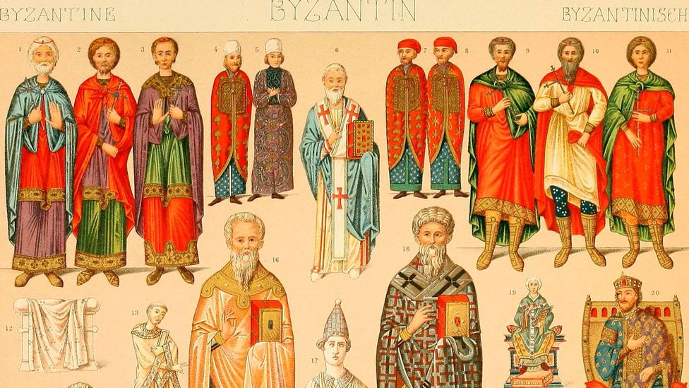 'Byzantine', meaning something that's extremely complex, is derived from the Byzantine Empire (Credit: Alamy)