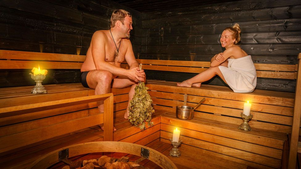 Finnish sauna culture shows the Finns have no problem getting personal, but when clothes are on, the bets are off (Credit: ARCTIC IMAGES/Alamy)