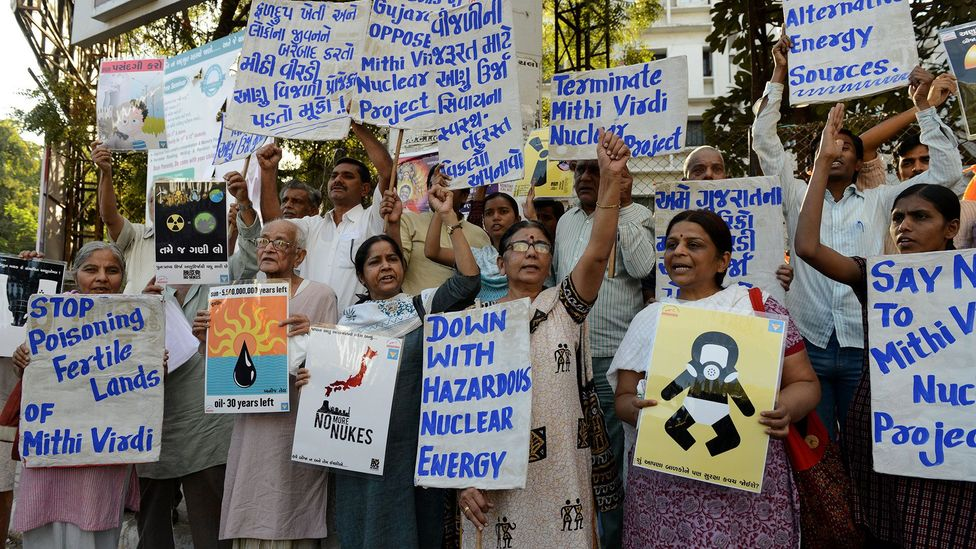 Nuclear energy in India remains a controversial prospect, but those in favour claim that it is the only way to wean the country from fossil fuels (Credit: Getty Images)