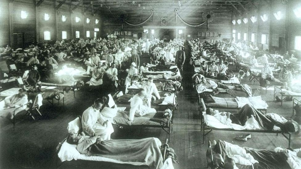 Sick in military camp (Credit: Getty Images)