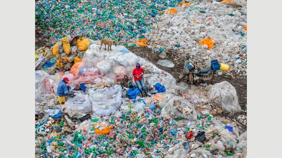 Dandora Landfill #3, Plastics Recycling, Nairobi, Kenya, 2016: among the world's largest (Credit: Edward Burtynsky, courtesy Flowers Gallery, London/Metivier Gallery, Toronto)