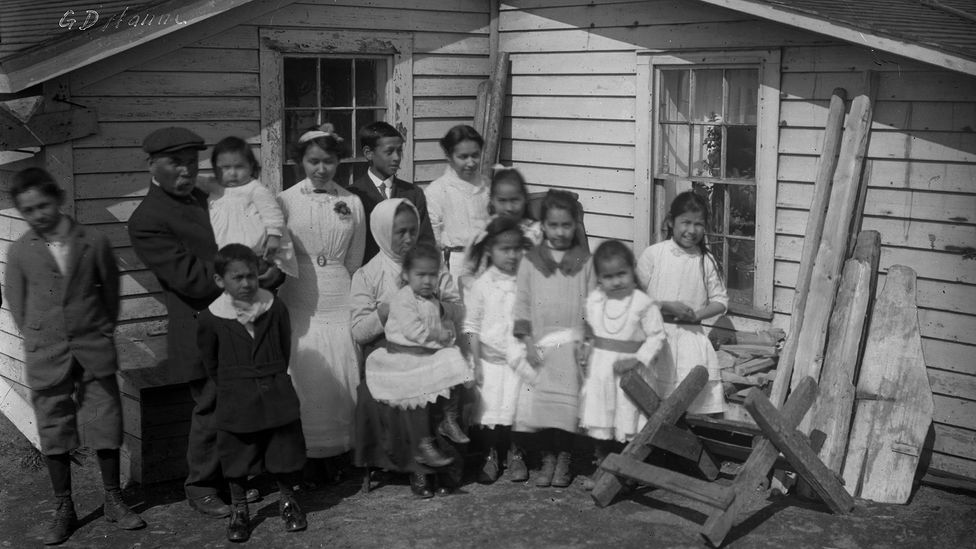 In some communities, many adults died and orphaned children had to fend for themselves (Credit: Getty Images)