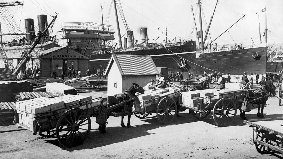 The Australian state of Hobart instituted strict quarantine - and suffered very few deaths (Credit: Getty Images)