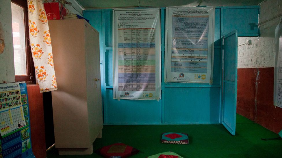 Thecounselling room inside the one-stop crisis centre (Credit: Bunu Dhungana)