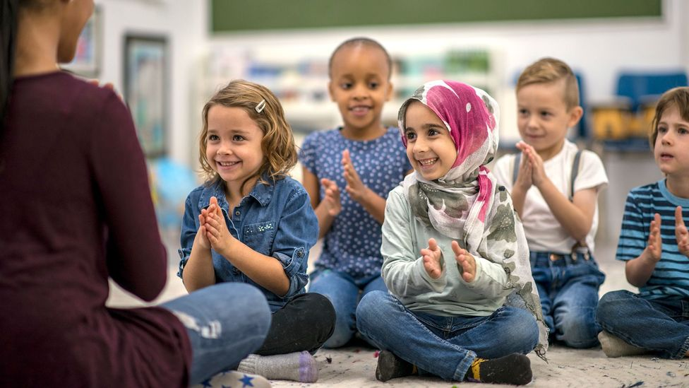 Young children are adept at picking up native accents – but different life stages bring different linguistic benefits (Credit: Getty)