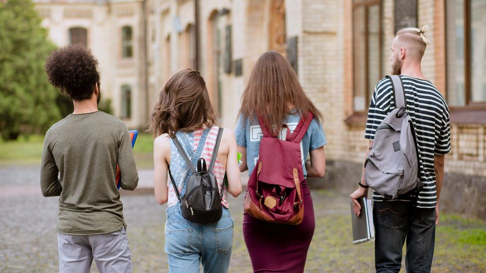 Some researchers have found that young adults have advantages over children when it comes to language learning (Credit: Getty)