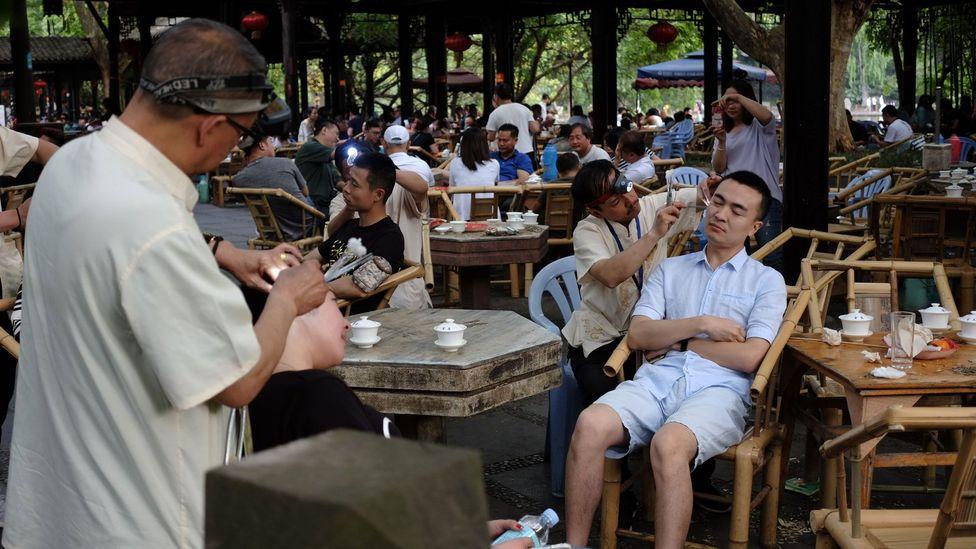 "Anita Lai: ""Ear cleaning definitely still plays an important role in Chengdu's culture"" (Credit: Hilda Hoy)"