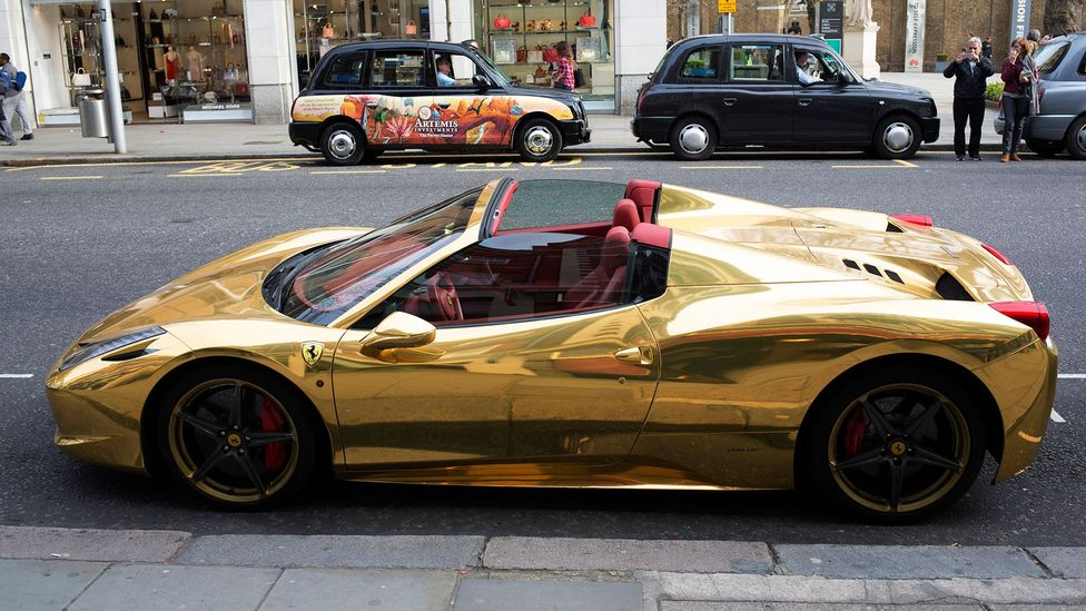 You can buy a lot of fast cars with a large jackpot win – but then you'd be among the estimated third of lottery winners who go broke (Credit: Getty Images)