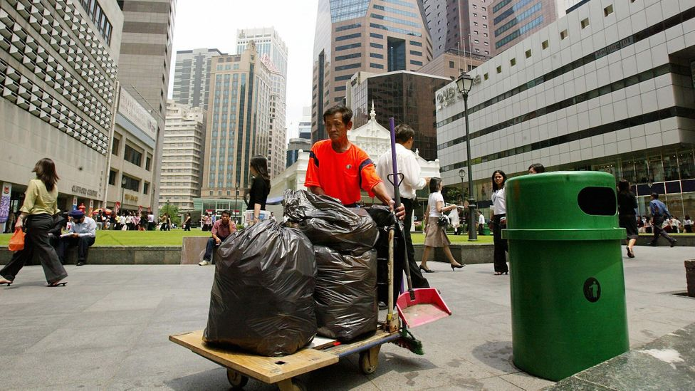 Typically, the Singapore authorities issue tens of thousands of fines a year for littering (Credit: Getty Images)