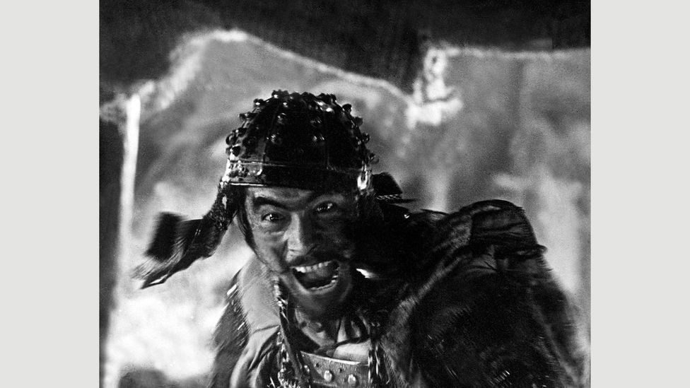 Kikuchiyo, played by Kurosawa favourite Toshiro Mifune, is a half-crazed swaggerer who turns out to be less of a buffoon than he first appears (Credit: Alamy)