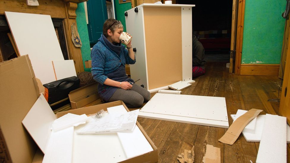 With on-demand services like TaskRabbit, boomers can earn money on their own time with hands-on jobs including flat-pack furniture assembly (Credit: Alamy)