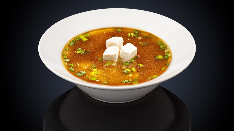 One cup of miso soup contains 2.7g of salt (Credit: Getty)