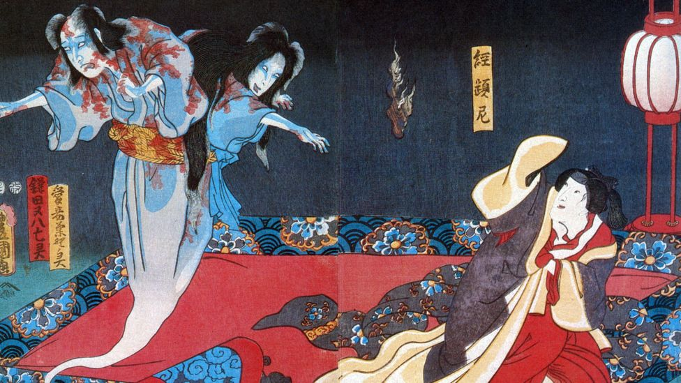 Ghost stories are common in folklore in countries like Japan and often have a strong moral message (Credit: Science History Images/Alamy)