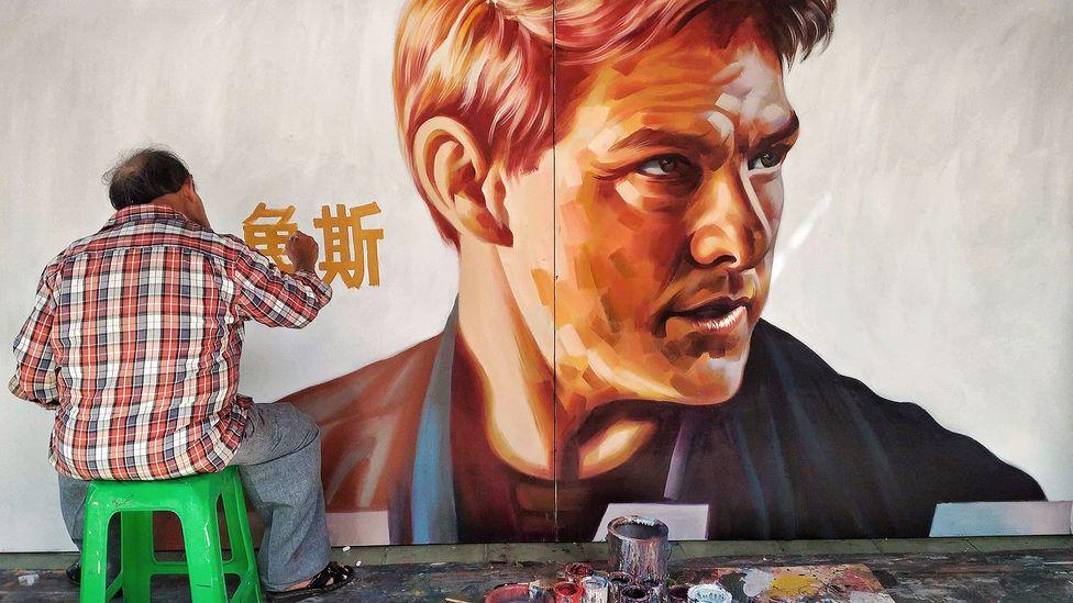 Yan Jhen-Fa is Taiwan's last film poster painter