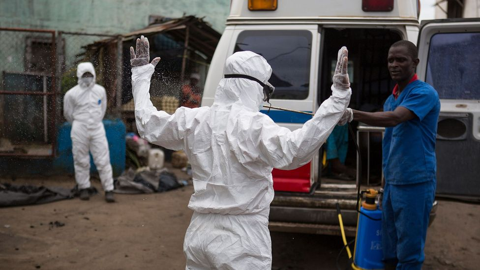 Ebola caused major problems in the recent West African outbreak because traditional methods of washing the dead helped spread it (Credit: Getty Images)