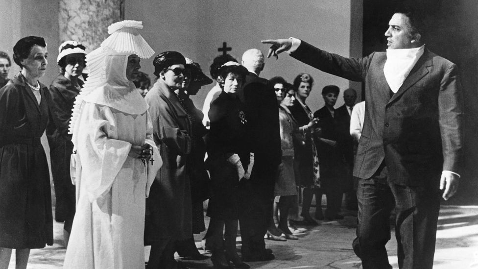 Fellini turned movie-goers on to an entirely new way of seeing (Credit: Getty Images)