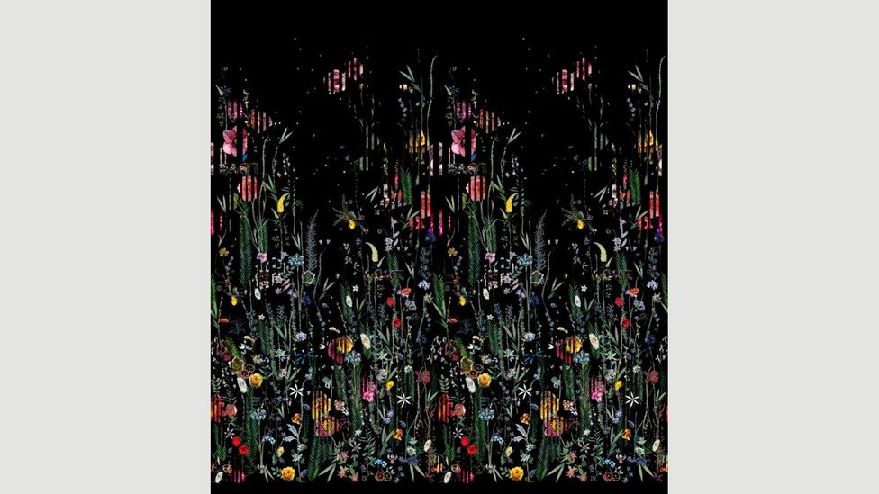 Babylonia Nights by Christian Lacroix, one of the luxury brands who are now creating wallpaper designs (Credit: Christian Lacroix)