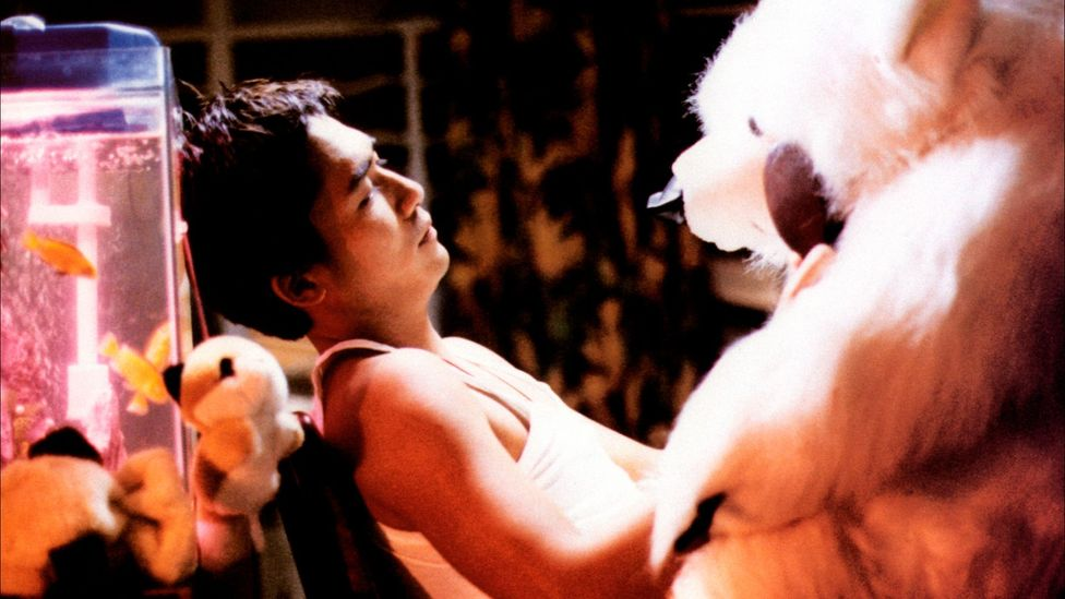 Chungking Express charts the quirky romantic adventures of two lonely Hong Kong policemen (Credit: Alamy)