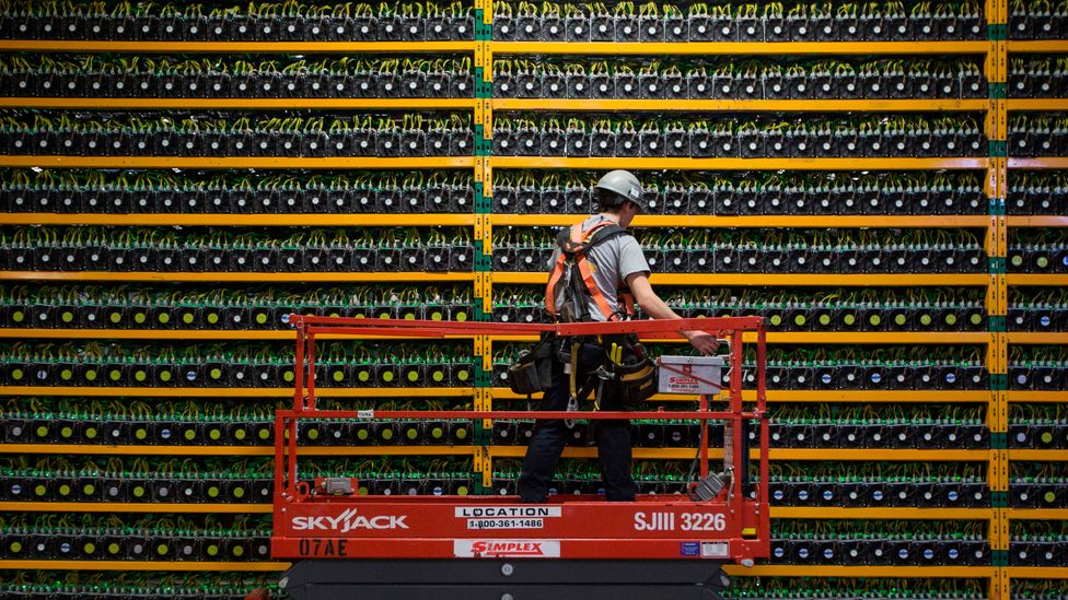 While the financial services sector - cryptocurrencies - may be an early blockchain adopter other sectors like healthcare and energy will not be far behind (Credit: Getty Images)