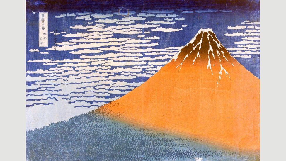 Fine Wind, Clear Morning is part of Hokusai's Thirty-Six Views of Mount Fuji series (Credit: Alamy)