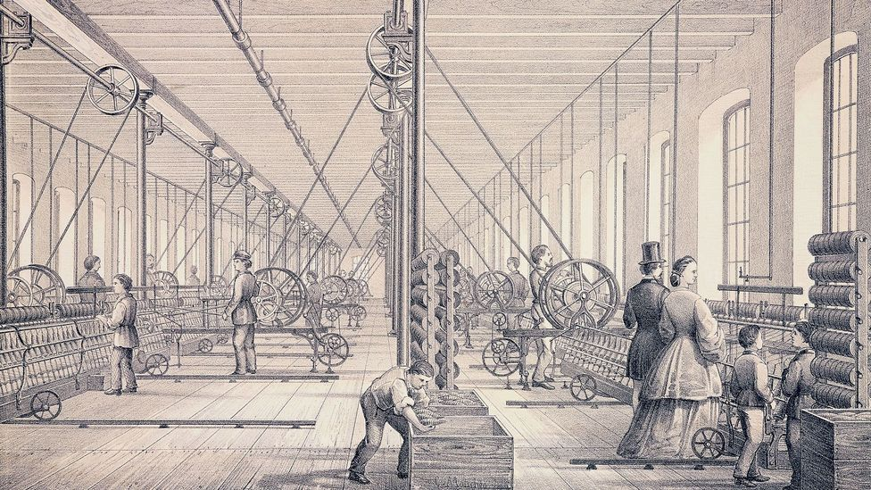Schio's connection to Manchester stems from its history as a major textile production centre (Credit: De Agostini Picture Library/Getty Images)