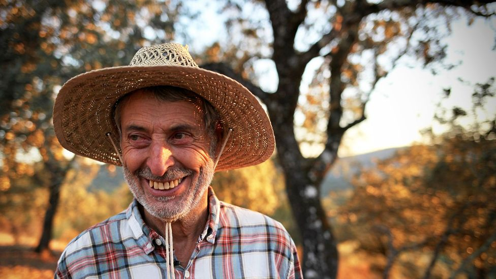 Eduardo Donato came to the area near Jabugo in 1989 in search of a quiet life (Credit: Max Duncan)