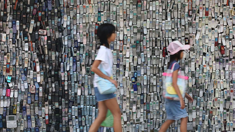 Only 20% of discarded e-waste is recycled (Credit: Alamy)