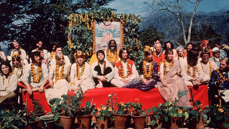 Most of the album's songs were written during a Transcendental Meditation course in India (Credit: Getty)