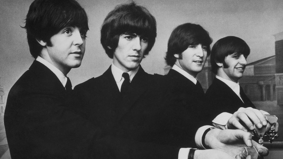 """In the Sunday Times newspaper, Derek Jewell wrote that The Beatles were """"created by, created for, their age"""" (Credit: Getty)"""