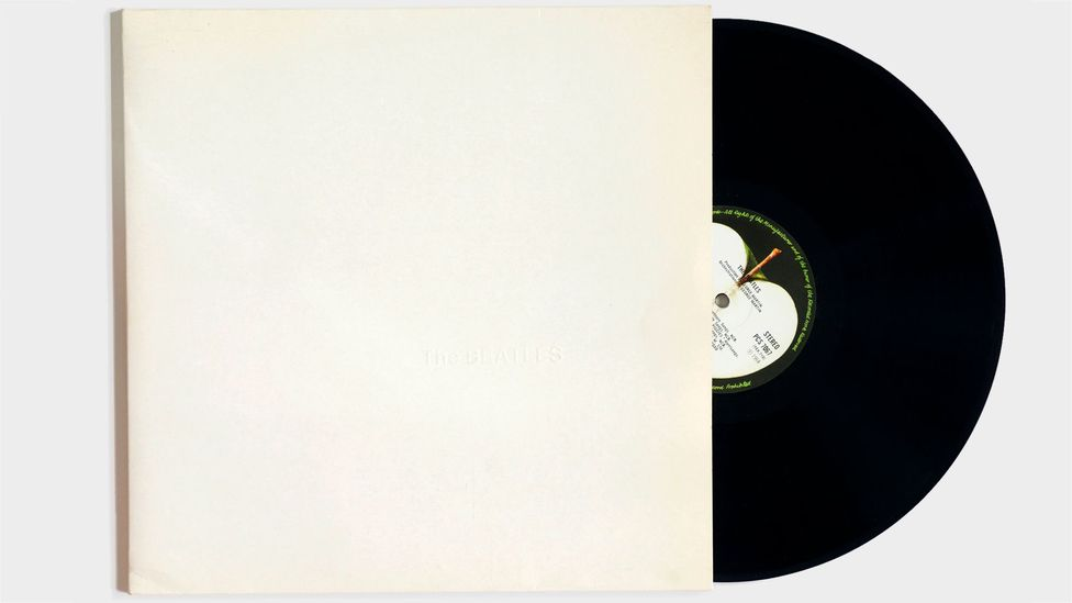 The sleeve, designed by Pop artist Richard Hamilton, was famously blank (Credit: Alamy)