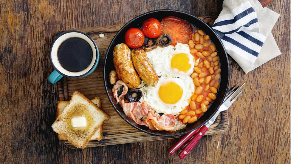 One analysis found that people who made breakfast the biggest meal were more likely to have a lower body mass index (Credit: Getty)