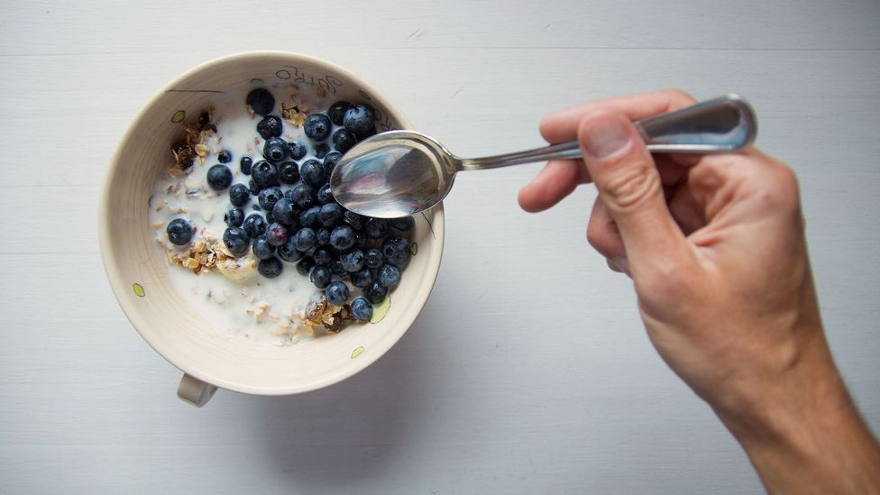 Because many cereals are fortified with vitamins, breakfast-eaters often take in more nutrients… but also more sugar (Credit: Getty)