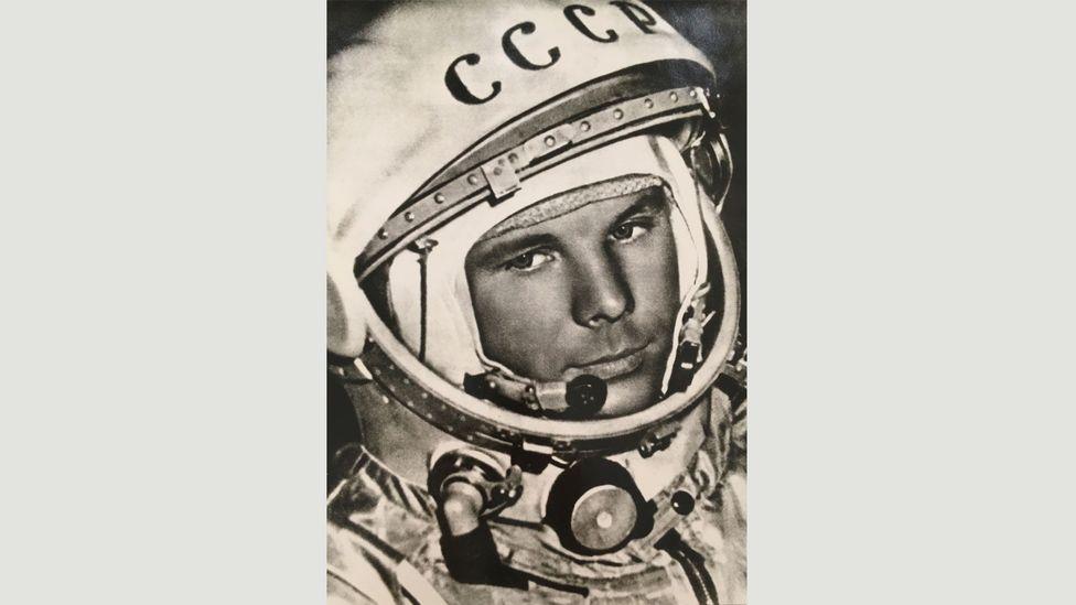 Igor Snegirev, Yuri Gagarin, April 1961 (Credit: Copyright the artist courtesy Atlas Gallery)