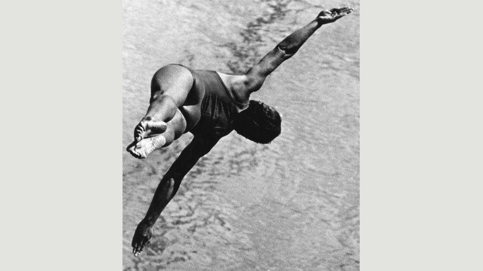 Lev Borodulin, Diver, 1960 (Credit: Copyright the artist courtesy Atlas Gallery)