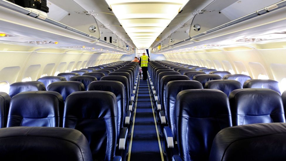 The cabin partitions in passenger aircraft can be made lighter but stronger when designed by AI (Credit: Alamy)
