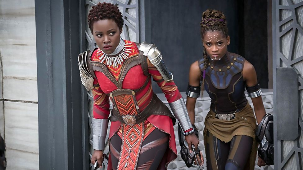 Black Panther was the first Marvel film with a predominantly black cast (Credit: Alamy)
