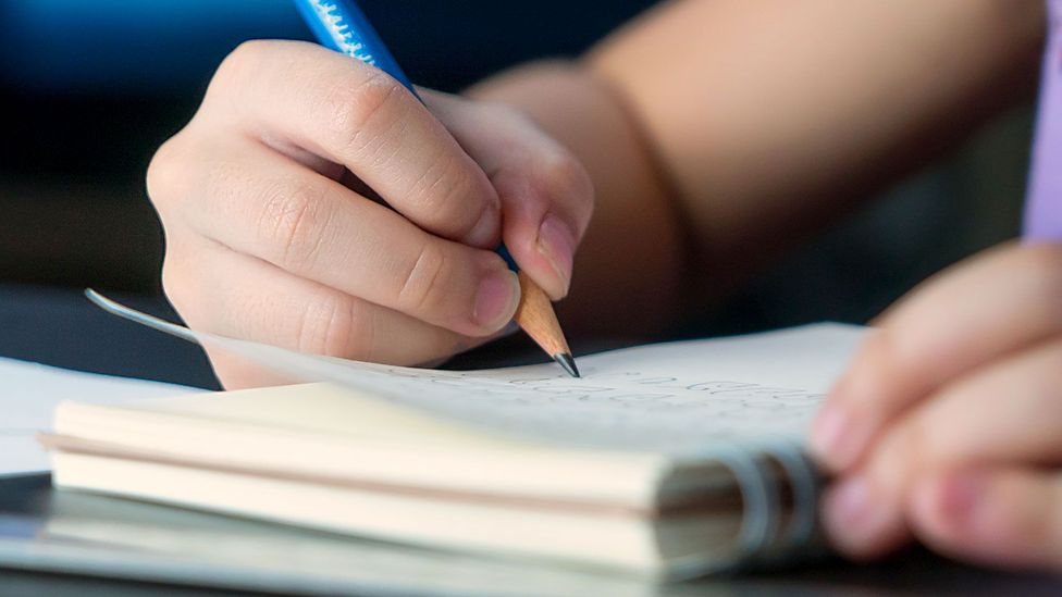 Children born in September achieve better exam results than their peers born in August (Credit: Getty)