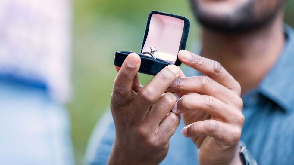 Women thought the best date to get engaged was Valentine's Day (Credit: Getty)