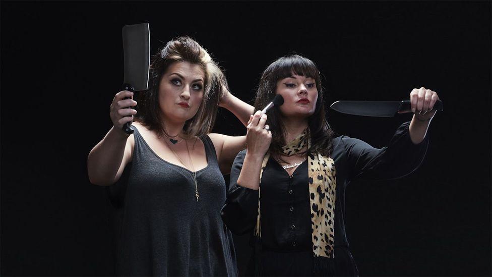 Comedian Rachel Fairburn co-hosts the All Killa no Filla podcast with her fellow comedian Kiri Pritchard McLean (Credit: Duncan Elliott)