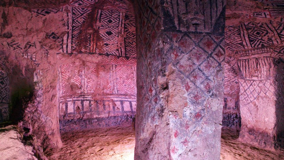 Tierradentro's 162 underground tombs were carved into solid volcanic bedrock centuries ago (Credit: Christopher P Baker)