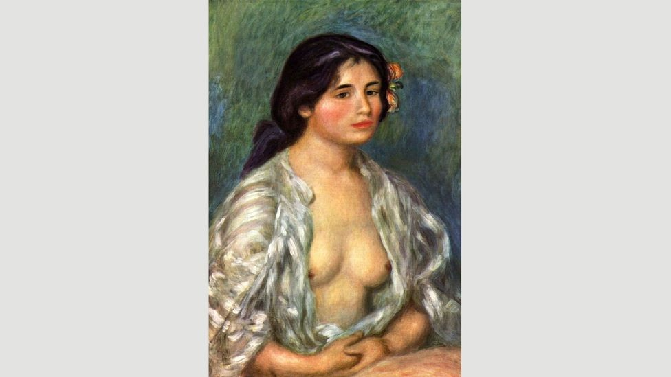 Because of its partial nudity, Renoir's Gabrielle with Open Blouse can't be exhibited in Iran (Credit: Alamy)