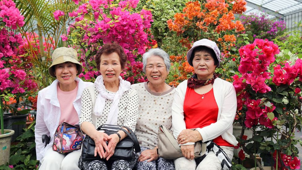 Okinawa in Japan has one of the world's higest concentration of centenarians (Credit: Getty Images)