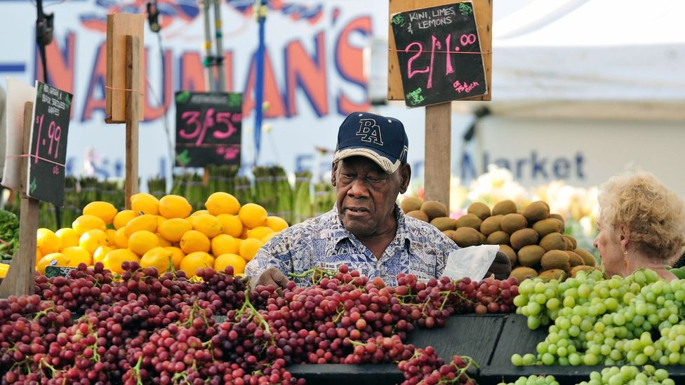 Researchers have demonstrated a link between a diet rich in vegetables, fruits, whole grains, legumes, nuts, fish and olive oil with slower aging (Credit: Alamy)