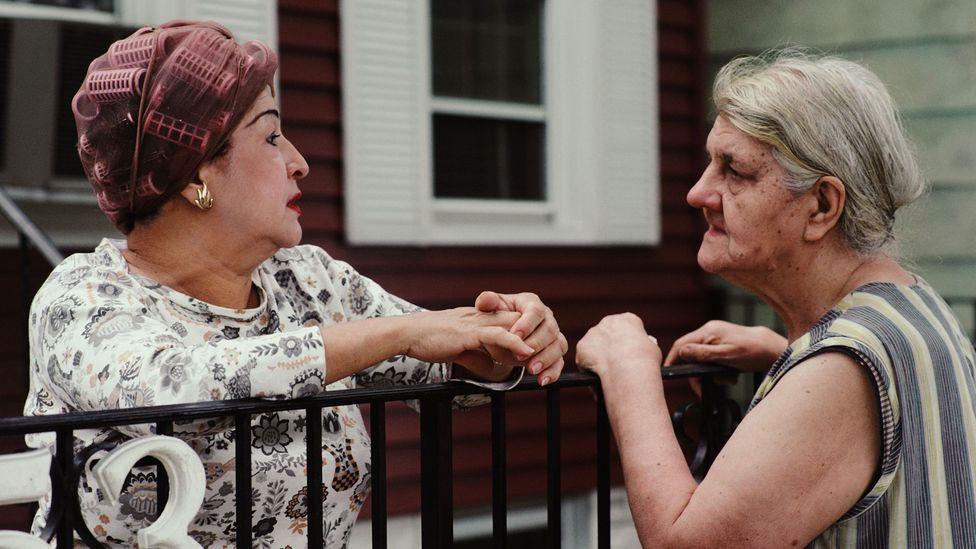 Women chatting (Credit: Getty)