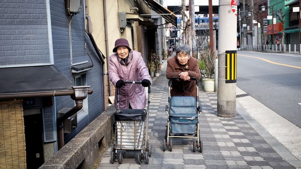 Japan's population is the fastest-ageing in the world, leaving behind huge swaths of jobs in the country that need filling (Credit: Alamy Stock Photo)