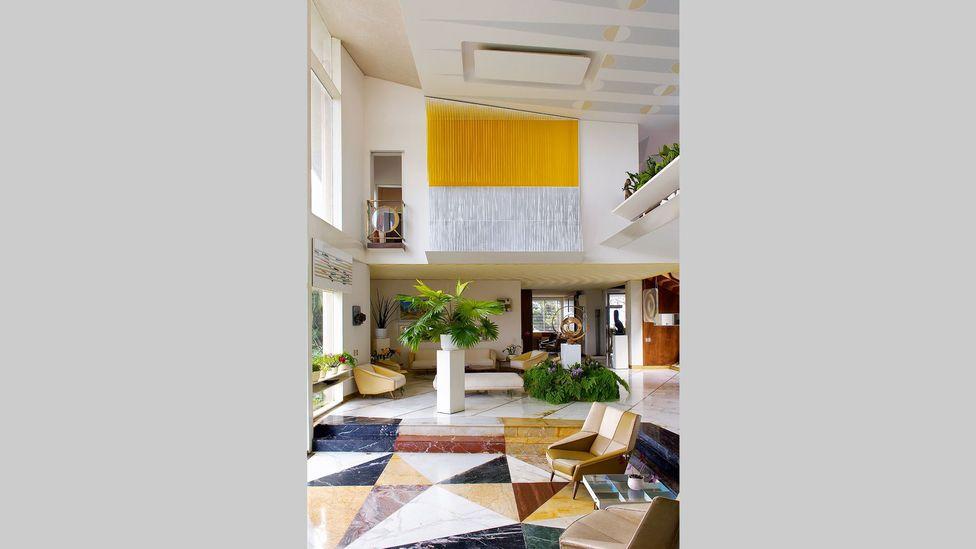 Gio Ponti's interiors were bold and florid (Credit: Gio Ponti Archive)