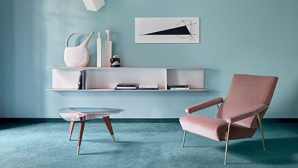 Current Italian brand Molteni&C has faithfully reproduced some of the designer's most iconic furniture (Credit Gio Ponti x Molteni&C)