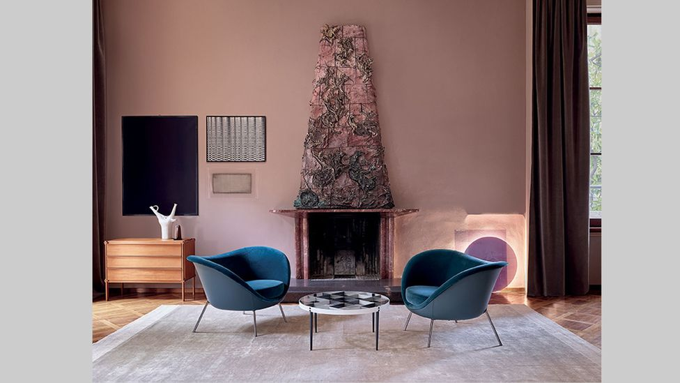 Chair designs by Ponti have been reproduced by Italian brand Molteni&C (Credit Gio Ponti x Molteni&C)