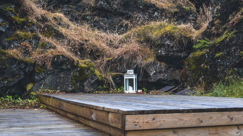 Magnús Skarphéðinsson, who run's Reykjavík's Elfschool, has met 35 people who say they have been invited into elf homes (Credit: Ian Young)
