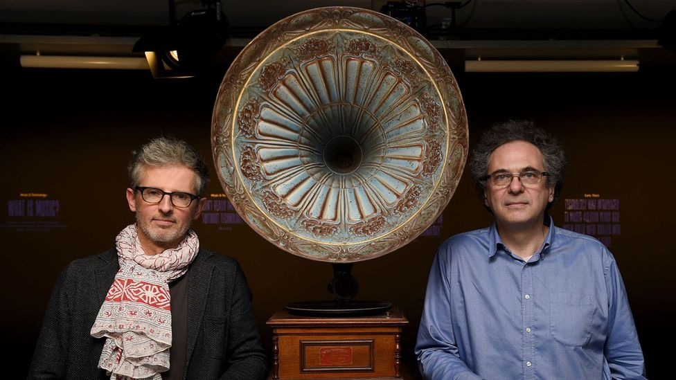 Francois Pachet, of the Flow Machine project, and Benoit Carre, of the artistic group Skygge, collaborated on an album composed using AI (Credit: Getty Images)